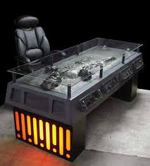 awesome office desks. Coolest Han Solo Desk | #StarWars Awesome Office Desks R