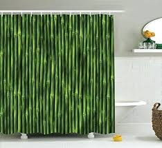 bamboo shower curtain uk by stems pattern tropical