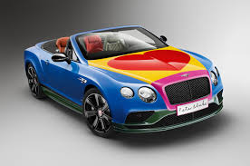 Bentley Optical Design Is Sir Peter Blakes Bentley Continental Gt Your Favourite