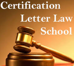Certification Letter Free Letters