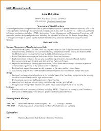 Language Skills Resume Language Specialist Sample Resume Shalomhouseus 66