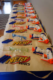 fun party themes for 13 year olds. scribner\u0027s scribblers: ryan\u0027s 8th birthday nerf gun party fun themes for 13 year olds