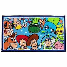 toy story 4 jumble rug floor mat kids large rectangular