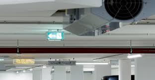 Jet Fan Ventilation Design Car Park Ventilation Cfm Airsystems