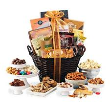 gourmet gift basket of chocolates cookies and snacks food gift baskets the perfect gift
