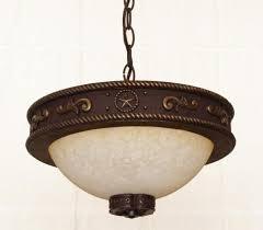 rustic lighting fans