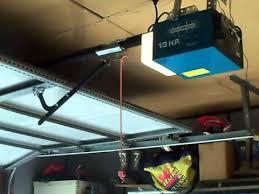 1 hp garage door openeraccessmaster 13 hp garage door opener  YouTube