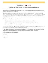 Awesome Collection Of Entry Level Sales Cover Letter Retail Sample