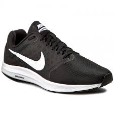 nike downshifter 7. shoes nike - downshifter 7 852459 002 black/white nike u