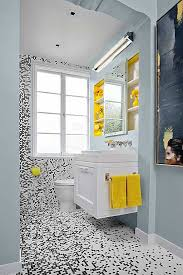 Wondrous Design Ideas Black And White Small Bathroom Bathrooms Come Alive  With These 20 Stylish Transformations Tile