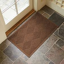 front door matAmazoncom  Large Entryway Rug with Non Slip Rubber Backing