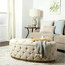 tufted ottomans benches beige linen tufted ottoman bench tufted ottoman bench diy