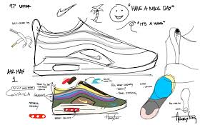 Nike Shoe Design Process Sean Wotherspoon X Nike Air Max 1 97 Vf Design Process
