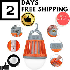 Bug Free Camping Lights 2 In 1 Camping Lantern Bug Zapper Tent Light Portable Ipx6