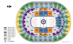 Bell Mts Centre Seating Chart Winnipeg Jets Home Schedule 2019 20 Seating Chart