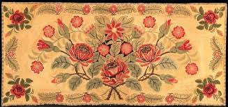 bias shirred hearth rug new probably ca wool on hooked rugs hand for the first