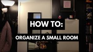 How to: Organize a small room (When you have a lot of stuff!) - YouTube