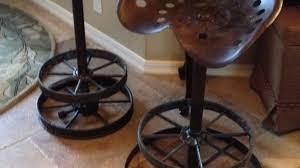 terrific tractor seat bar stool in unique stools designs johnhl org