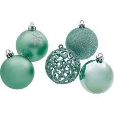 Weihnachtskugel Set 25 Teilig Mint