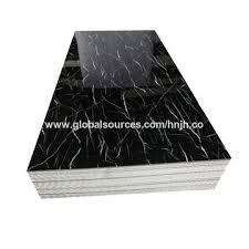 china good quality pvc marble sheet uv