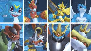 Digimon Cyber Sleuth Hacker S Memory Digivolution Chart Digimon Story Cyber Sleuth Hackers Memory Veemon