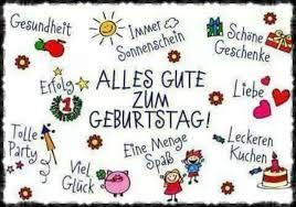 Happy Birthday Sprüche Deutsch 5 Happy Birthday World
