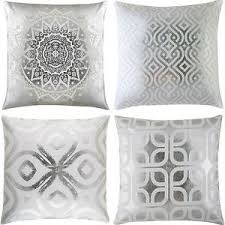 printed pillow cases. Image Is Loading METALLIC-PRINTED-CUSHION-COVERS-MODERN-METAL-FOIL-THROW- Printed Pillow Cases