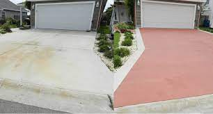 concrete resurfacing projects and
