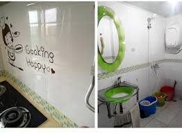 classical mosaic stickers vinyl waterproof waistline self adhesive wallpaper kitchen bathroom tiles pvc wall sticker borders