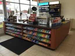 Electrical Shop Counter Design Handy Store Fixtures Sales Counter For Convenience Stores