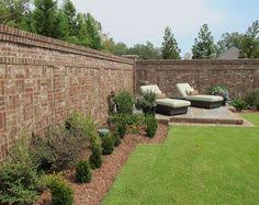 Small Picture Beautiful brick fence with potted plants on top and awesome