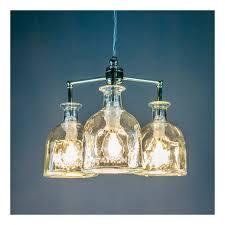 patron chandelier by renegade art glass