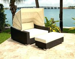 wicker outdoor daybed with canopy – bachally.co