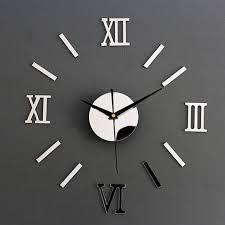 white jomparis kids wall clock learning