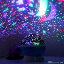 holigoo romantic rotating spin night light projector sky star moon master usb lamp led projection for kids baby sleep lighting desk lamp bedside lamp desk