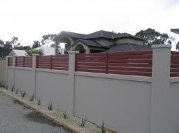 concrete fence design. Fine Concrete Modern Fence Design Ideas Get Inspired By Photos Of To Concrete E