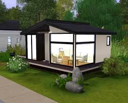 starter home plans adhome modern house sims 3 mod the stylish
