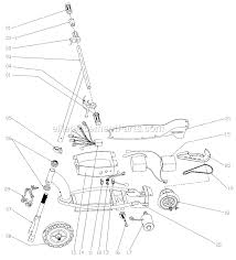 razor e150 parts list and diagram ereplacementparts com
