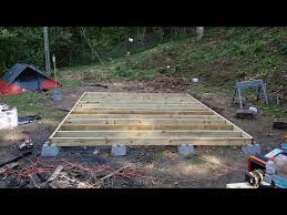 Small Picture Tiny House Floor Framing YouTube