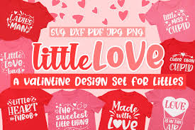 Choose from over a million free vectors, clipart graphics, vector art images, design templates, and illustrations created by artists worldwide! Little Love Kids Valentine S Day Svg Design Bundle 1102855 Cut Files Design Bundles