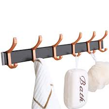 Command Strip Coat Rack Beauteous Amazon Wall Mounted Coat Rack With Self Adhesive No Drilling