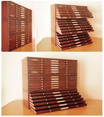 Dmc Thread Cabinet Watchmakers Cabinet18 Drawer Storage Brass Knobs Brass Name
