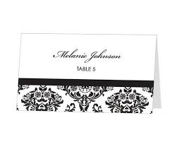 Avery 8377 Avery Place Card Template