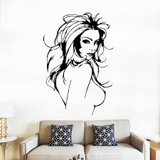 1 pc sexy women 3d wall stickers for living rooms poster backdrop stickers home decor in wall stickers from home garden on aliexpress alibaba group on 3d wall art woman with 1 pc sexy women 3d wall stickers for living rooms poster backdrop