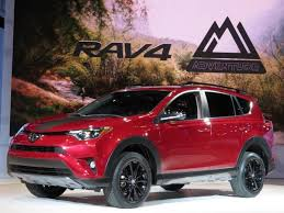 2018 toyota rav4 redesign. unique rav4 to bolster its offroad prowess the new rav4 adventure features a  higherriding suspension and adds protective overfender flares as well unique  with 2018 toyota rav4 redesign