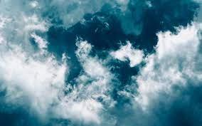 Wallpaper Clouds, Sky, Porous, Blue ...