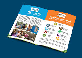 youthyouth builder sample flyers non profit organization profile presentation design on behance