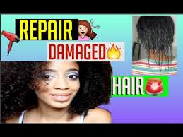 repair very damaged hair
