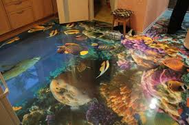3D Bathroom Floors Can Bring the Ocean Right to Your Own Home ...