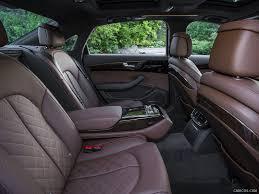2015 Audi A8 (US-Spec) - Interior Rear Seats | HD Wallpaper #112